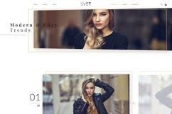 Svet - Fashion E-commerce PSD Template Product Image 6