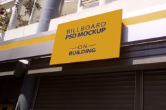 Billboard Mockup on Building - 5 PSD Templates Product Image 4