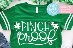 Pinch Proof St. Patrick's Day SVG DXF EPS PNG Cut File Product Image 1