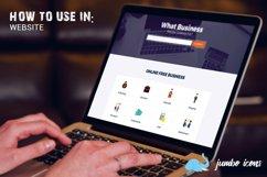 Flat Icons Business Set Product Image 4