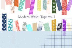 205 Washi Tape Bundle for Procreate Product Image 4