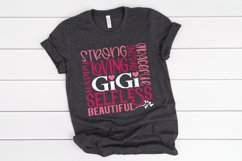 Gigi Subway Art SVG, PNG, DXF, EPS Product Image 4