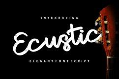 Ecustic | Elegant Script Font Product Image 1