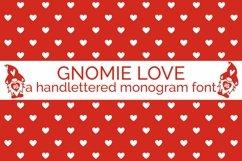 Web Font Gnomie Love - A Valentine's Day Monogram Font Product Image 1