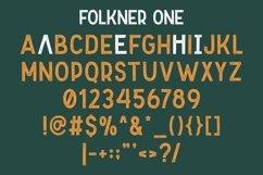 Folkner - Vintage Typeface Product Image 6