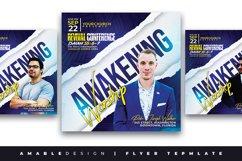 Awakening Worship Church Flyer Product Image 1