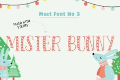 Forest Creatures Font Trio Product Image 4