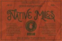 Native Miles - Vintage Font Product Image 1