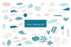 Blue Organism-Abstract Art Patterns Product Image 1