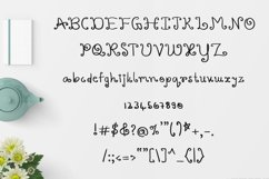 Varshuma - Handwritten Swirly Fun Font Product Image 4