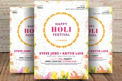 Holi Festival of Colors Flyer Product Image 1