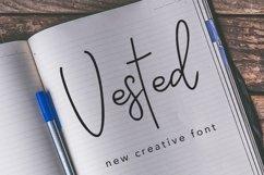 Web Font Vested Product Image 1