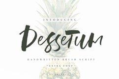 Dessetum Font Product Image 1