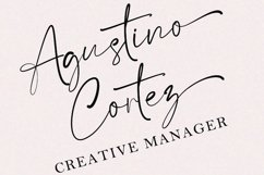 Satteck A Luxury Calligraphy Signature Font Product Image 3