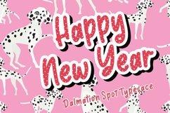 Dalmaspot Dalmatian Spot Typeface Product Image 5