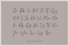 Sun Catcher | Multilingual Handwritten Script Font Product Image 2