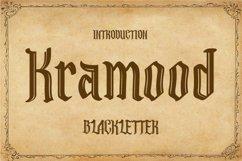 Kramood || Black Letter Product Image 1