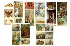 Easter Bunny and Rabbit Vintage Illustrations 1 PDF Product Image 6
