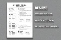 Resume/CV Product Image 2