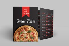 Food Menu Bi-Fold Brochure Product Image 3