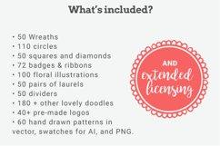 The Pretty Freakin' Big Hand Drawn Logo Design Kit Product Image 2