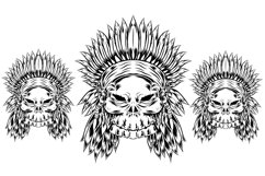 vector illustration of indiana skull Product Image 2