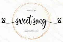 sweet song Product Image 1