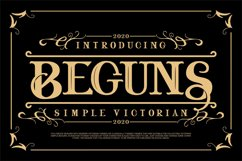 Beguns | Simple Victorian Product Image 1