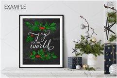 Christmas Frame & Wall Mockup Bundle Product Image 4