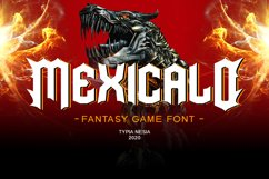 Mexicalo Game Font Product Image 1