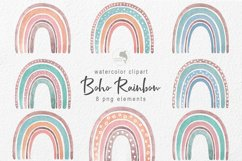 Watercolor boho rainbow Product Image 1
