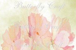 Pastel Flowers Digital Paper, Flower digital paper Product Image 6
