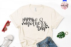 Happy mother's day - Mother SVG EPS DXF PNG Cut File Product Image 2