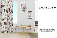 Living Room Curtain Mockup Set Product Image 6