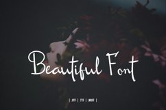 Roseline Script Font Product Image 2