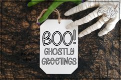 All Hollow's Eve - A Spooky Hollow Mix-Cased Font Product Image 5