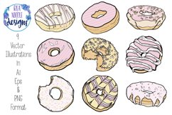 Sweet Pink Doughnuts Product Image 2