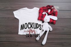 MOCK-UP Gildan White Children's Tshirt Product Image 1