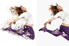 Splatter Dispersion Photoshop Action Product Image 4