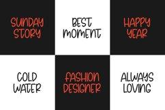 Avoids Dislikes | 3 Handmade Font Product Image 5
