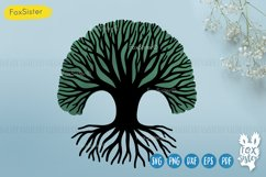 Tree of Life Svg, Tree cut file Svg Png Pdf Eps, Tree dxf Product Image 2