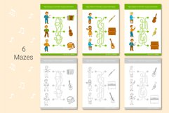 Musical Instruments Activities for kids. Product Image 6