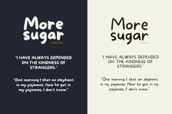 More Sugar + Extras Product Image 5