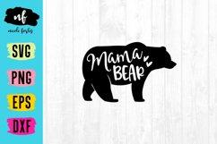 Mama Bear SVG Cut File Product Image 1