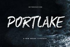 Portlake Brush Typeface Product Image 1
