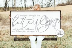 Whisper I Love You To A Butterfly And It Will fly To Heaven Product Image 1