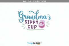 Grandma's sippy cup- svg & printable Product Image 2
