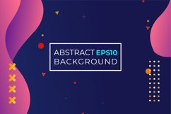 Background liquid abstract template Product Image 6