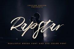 Rapstar Brush & SVG Font Product Image 1