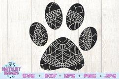 Pawprint Mandala SVG Product Image 3